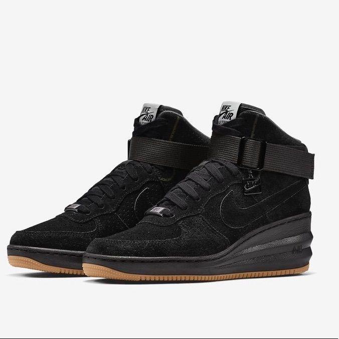 nike lunar sneaker wedge black