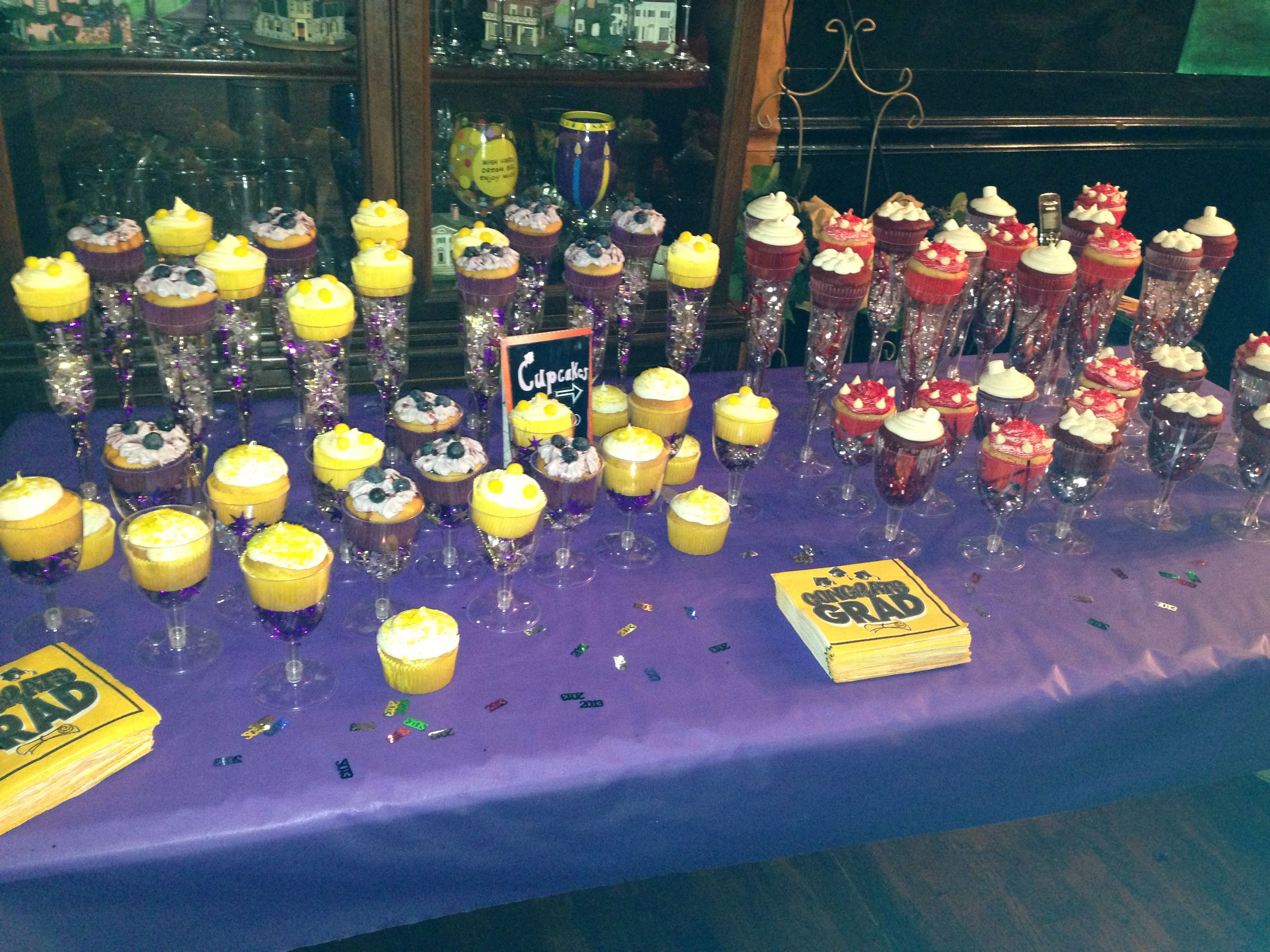 Half In The High School Colors New College Find This Pin And More On Graduation Party Ideas