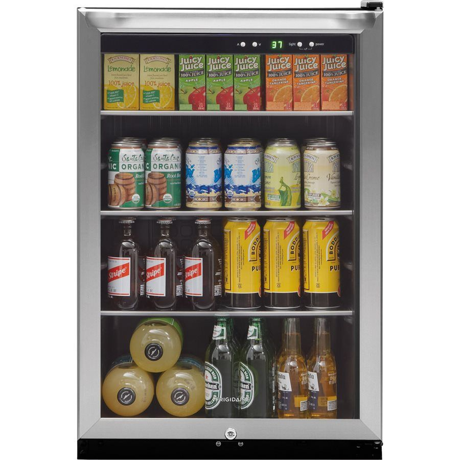 Frigidaire Ffbc46c2qs 4 6 Cu Ft Stainless Steel Freestanding Beverage Center At Lowe S Canada Find Our Selection Of Wine Coolers The T