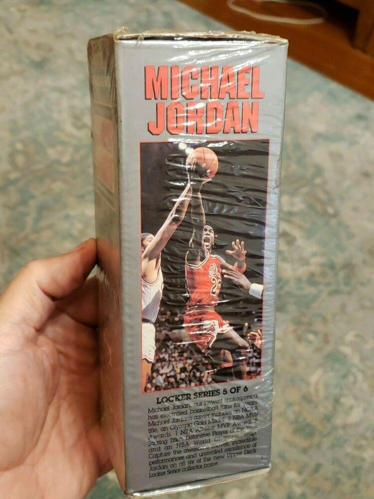 1991 upper deck michael jordan locker series 5 of 6 nba