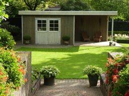 Garage Met Veranda : Jan de boer tuinhuizen fotoboek tuinhuis met veranda gefällt