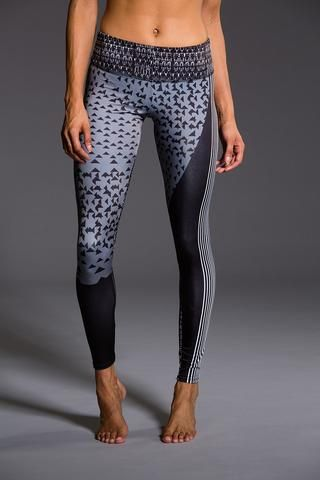 ONZIE Graphic Legging - Blocked Angles