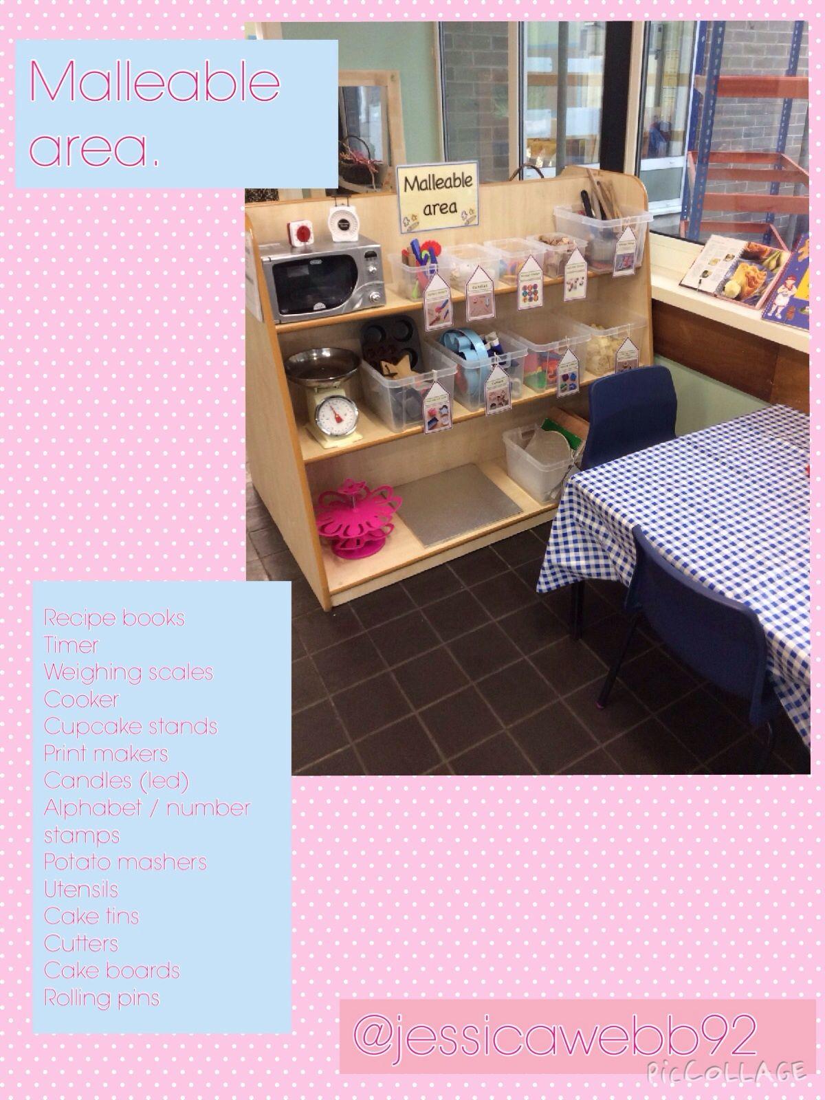 Classroom Organisation Ideas Uk ~ Dough area eyfs my fs classroom