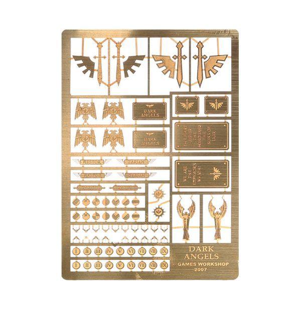 Warhammer Blood Angels etched brass Horus Heresy space marines 40k
