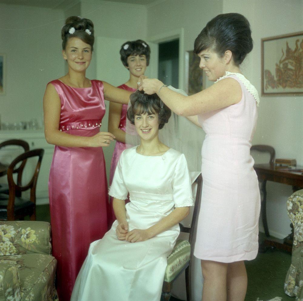 Vintage Wedding Dresses Philadelphia: Pin On A Bridesmaids Vintage In Color