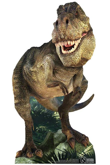 Tyrannosaurus Rex Official Jurassic World Stand in Lifesize Cardboard Cutout