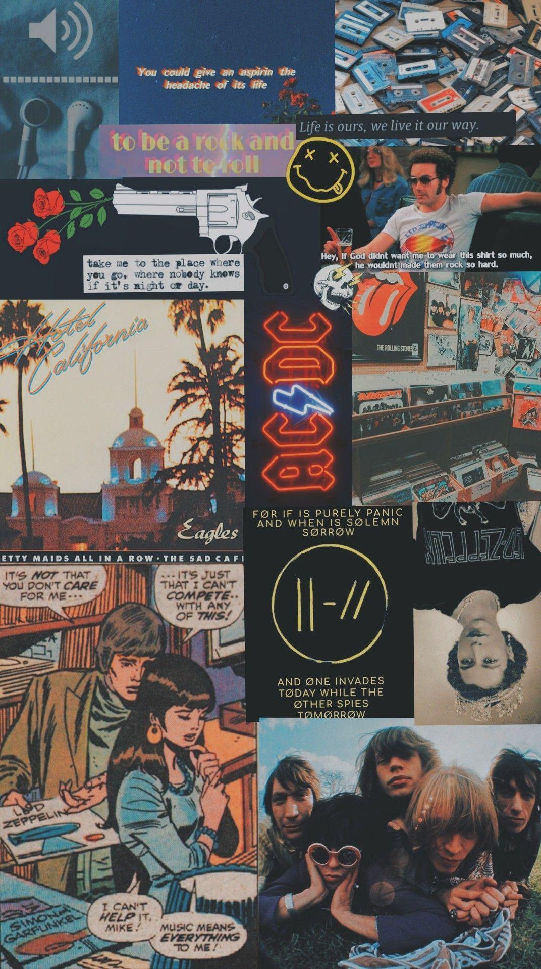 Rock and roll, twenty one pilots, Oasis, Led Zeppelin