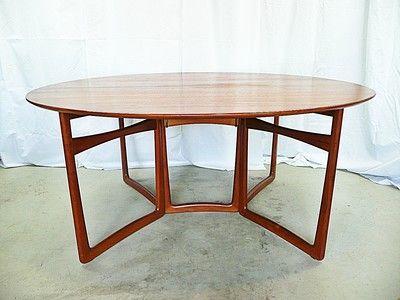 Peter HVIDT Mølgaard-Nielsen DINING table FRANCE & SONS midcentury DANISH moder