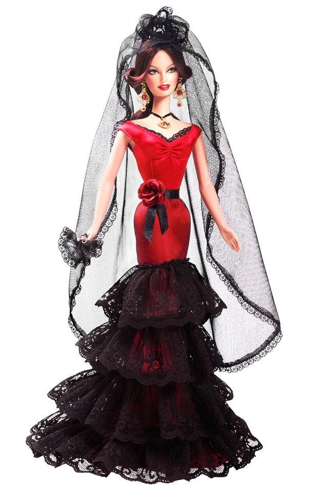 Spain Barbie Doll - Em Sp - Frete Grátis - R$ 350,00 no MercadoLivre