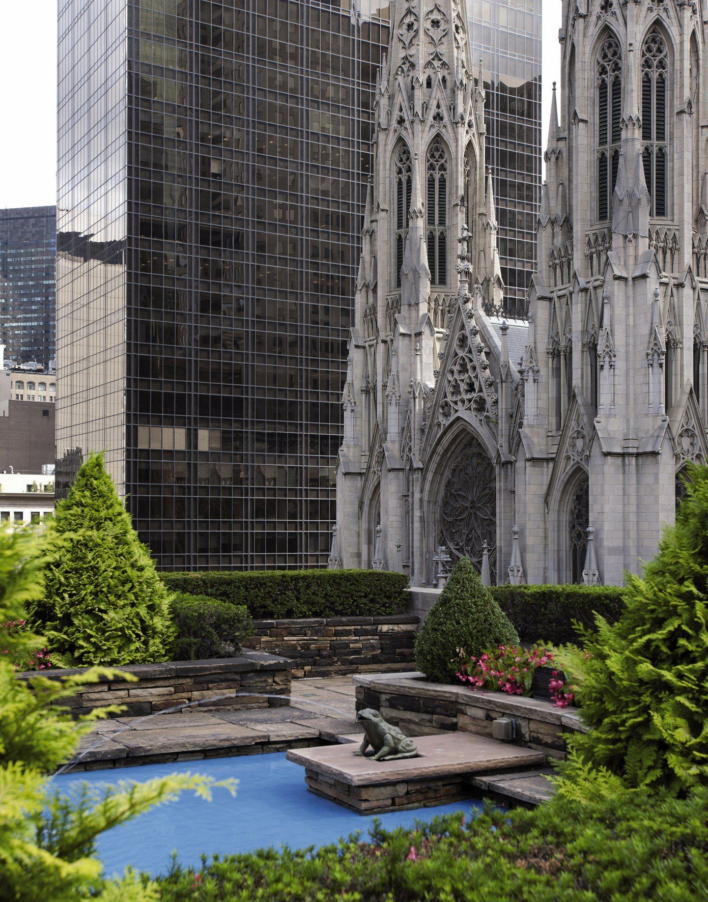 New York Rooftop Gardens English German French Italian And