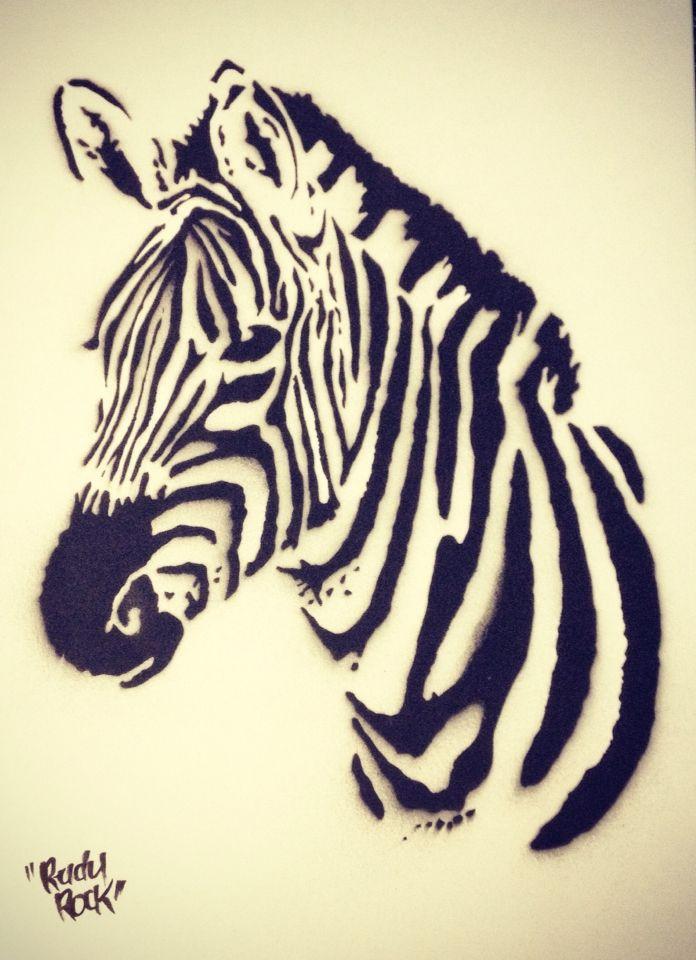 Zebra Cabeza Zebra
