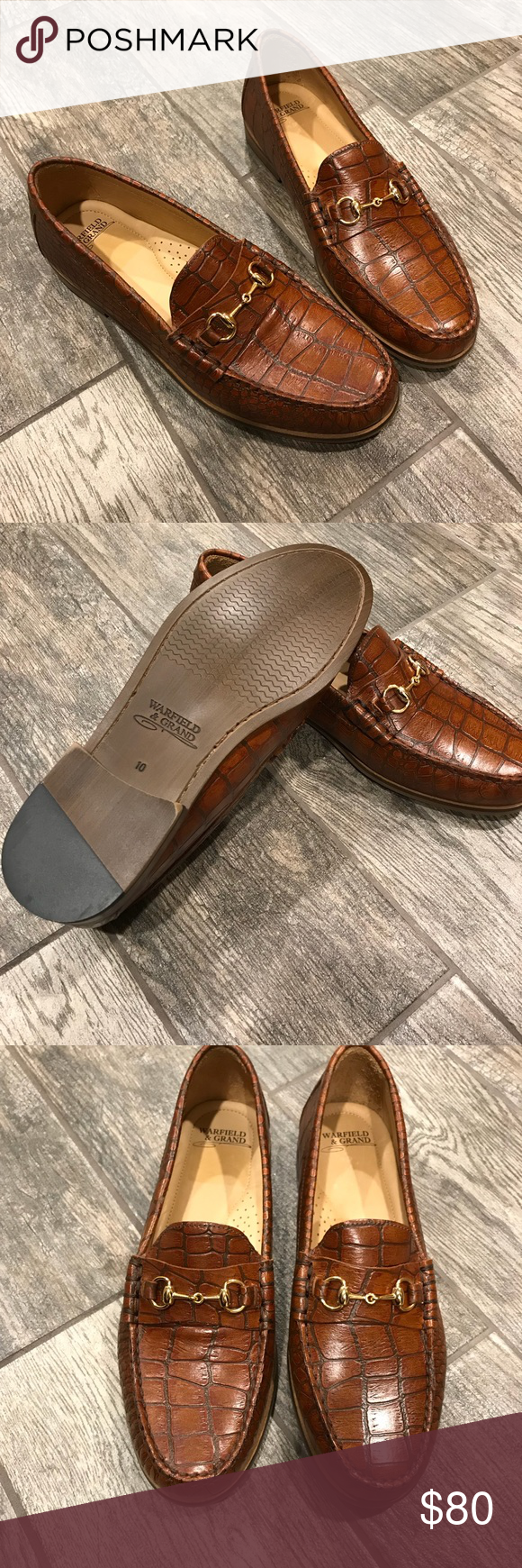 19d5b581ef3 Warfield   Grand Leather Santan Bit Loafer BRAND NEW IN BOX! Never been  worn. Perfect condition. Size 10. Memory Foam insole. Warfield   Grand  Shoes Loafers ...