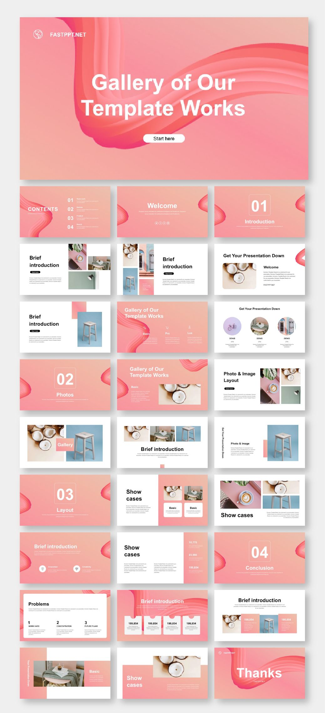 Business Plan & Multipurpose Presentation Template