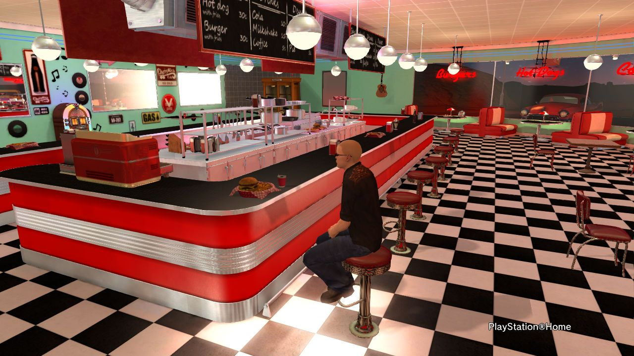 VEEMEE\'s 50\'s Diner Review | Red Kitchen | Pinterest