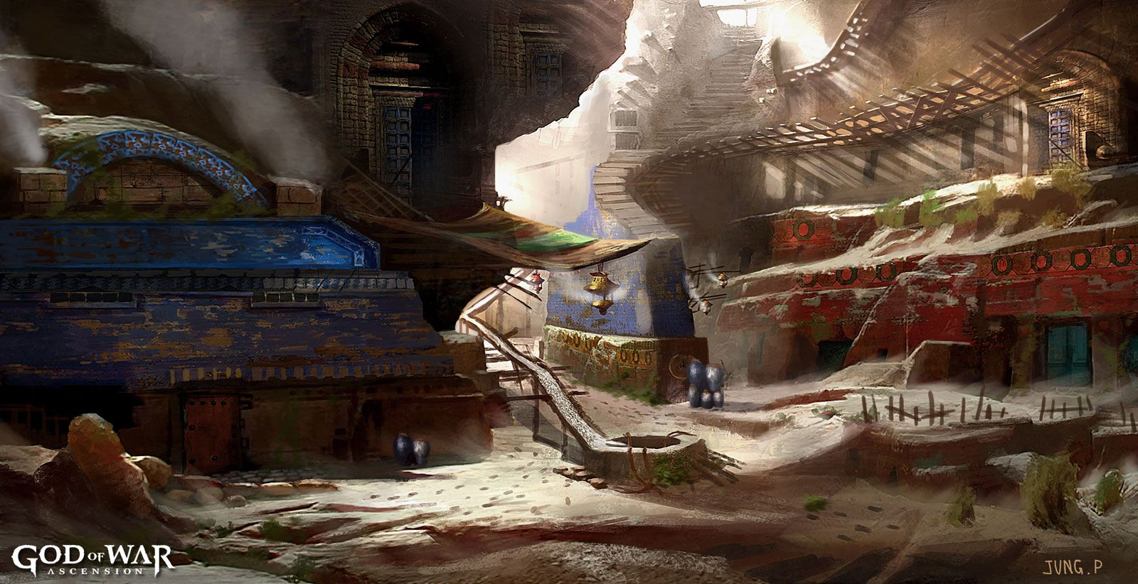 Concept art, God of War: Ascension