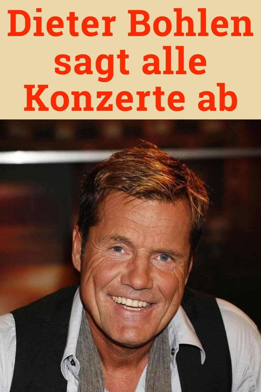 Dieter Bohlen Sagt Alle Konzerte Ab Konzerte Bohlen Dieter Bohlen