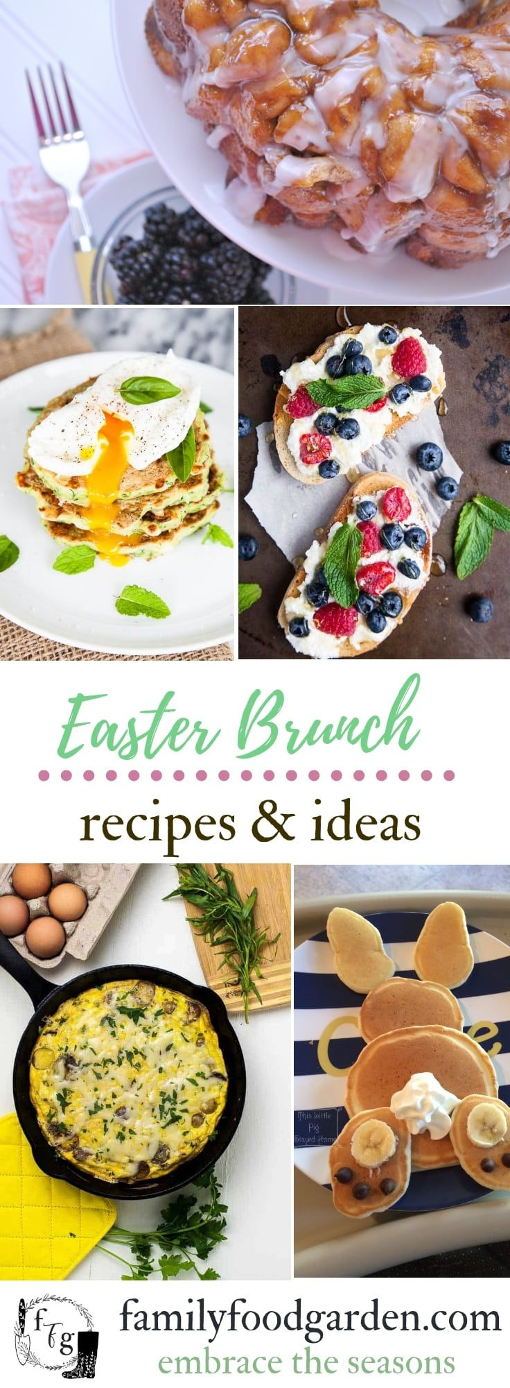 Spring and Easter Brunch Ideas images