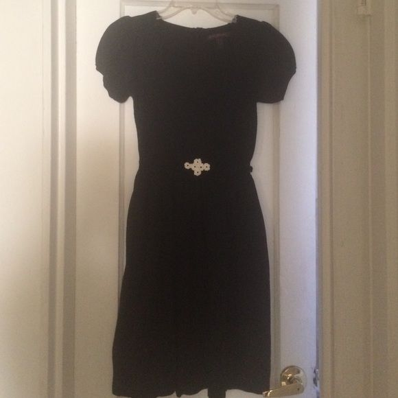 Betsey Johnson black knit dress Super cute, classic feminine black ...