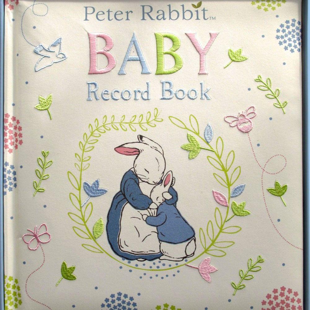 Peter Rabbit Baby Record Book #babyrecordbook