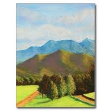 Resultado de imagen para paisajes en pastel