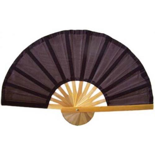Brown Bamboo Hand Fan Vintage Retro Air Conditioning And