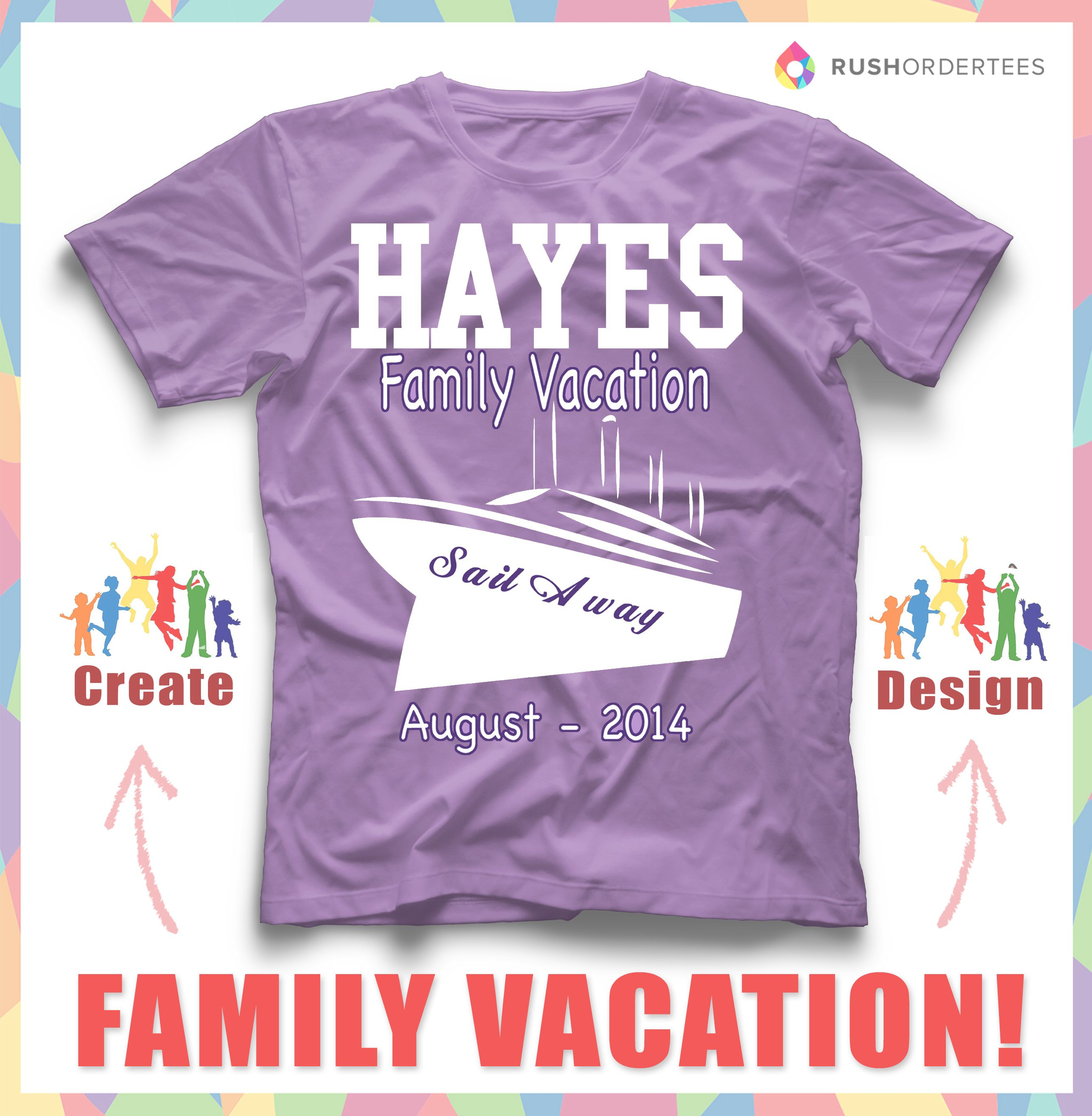 Sail Away With Your Family Wearing Some Awesome Custom T Shirts