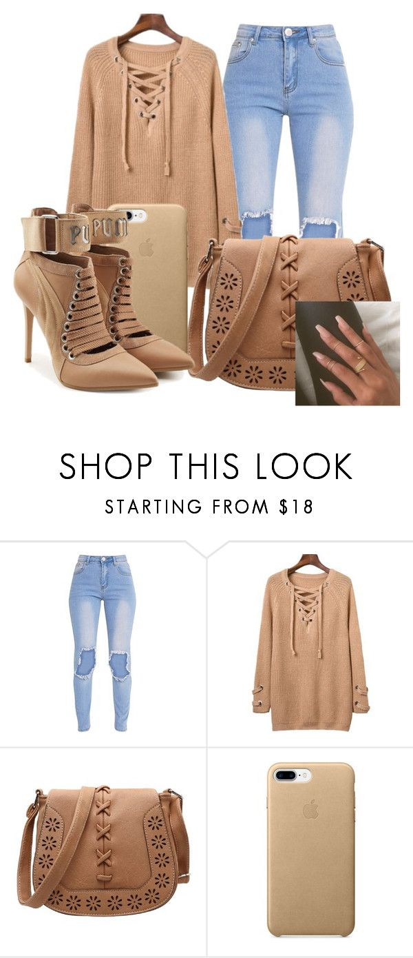 """""""Beige × Puma"""" by anariebreezy ❤ liked on Polyvore featuring Puma"""