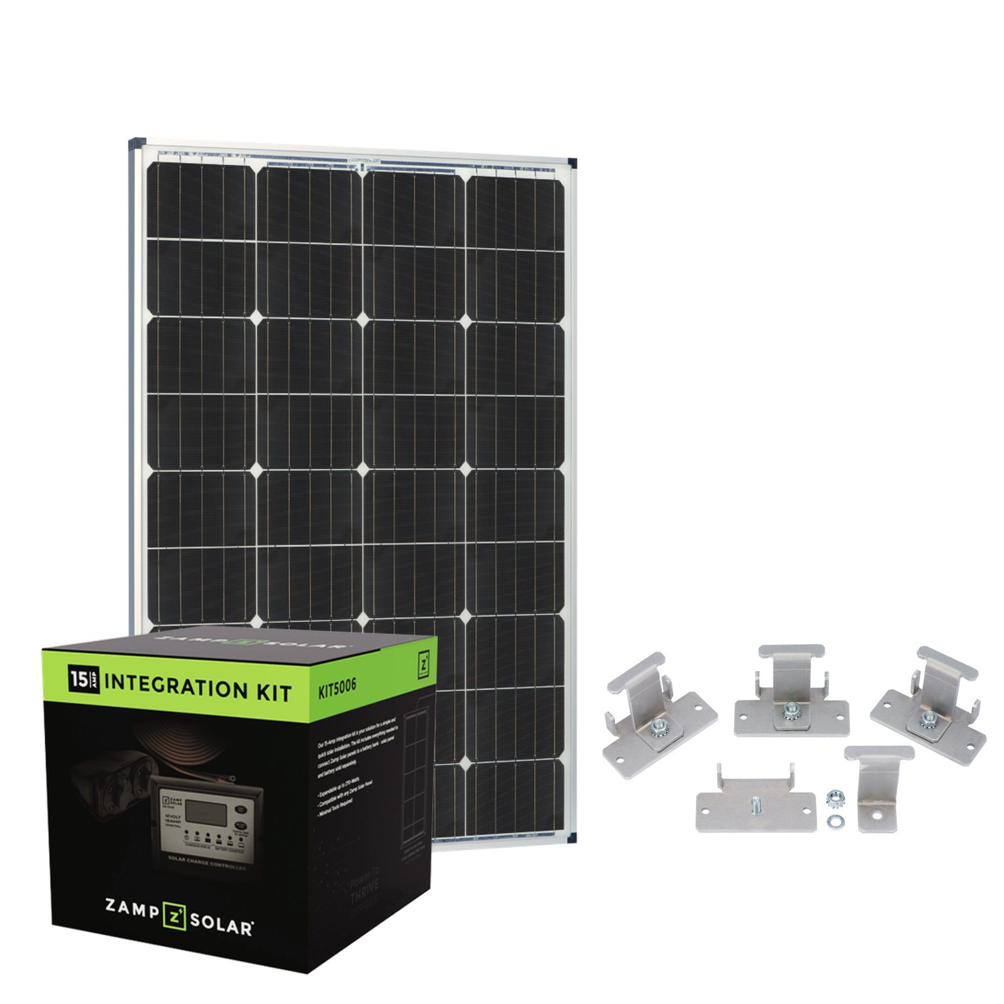 Zamp Rv Solar Power Deluxe Kit Builder In 2020 Rv Solar Power Rv Solar Solar