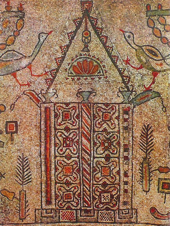 MADE TO ORDER mosaic rug / stone rug / by LaTenagliaImpazzita