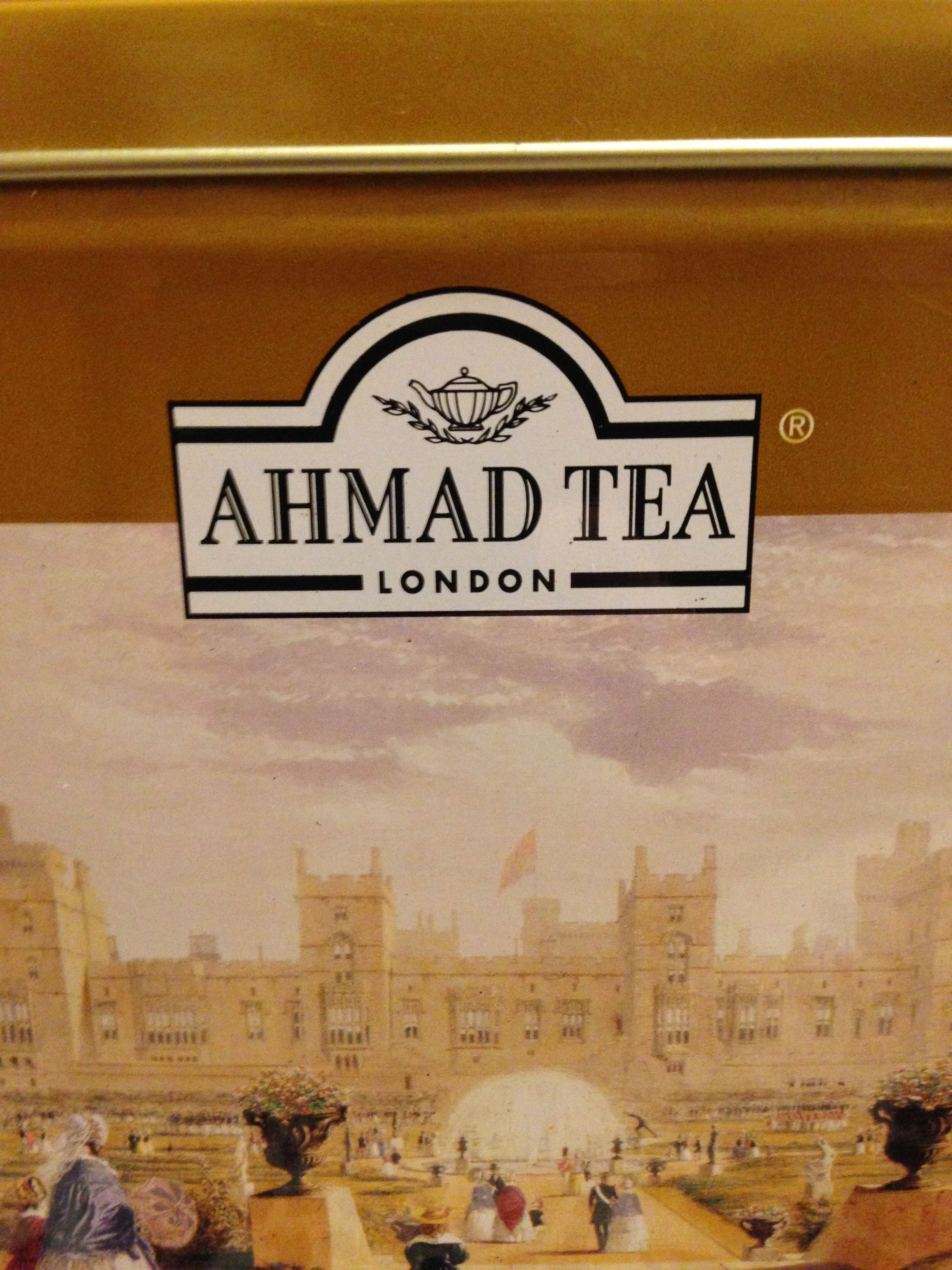And The Third In This Theme Ahmad Tea
