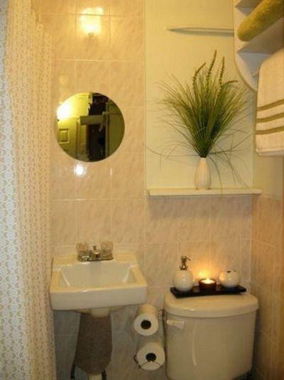 Ideas para la decoración de baños pequeños Decoracion de baños