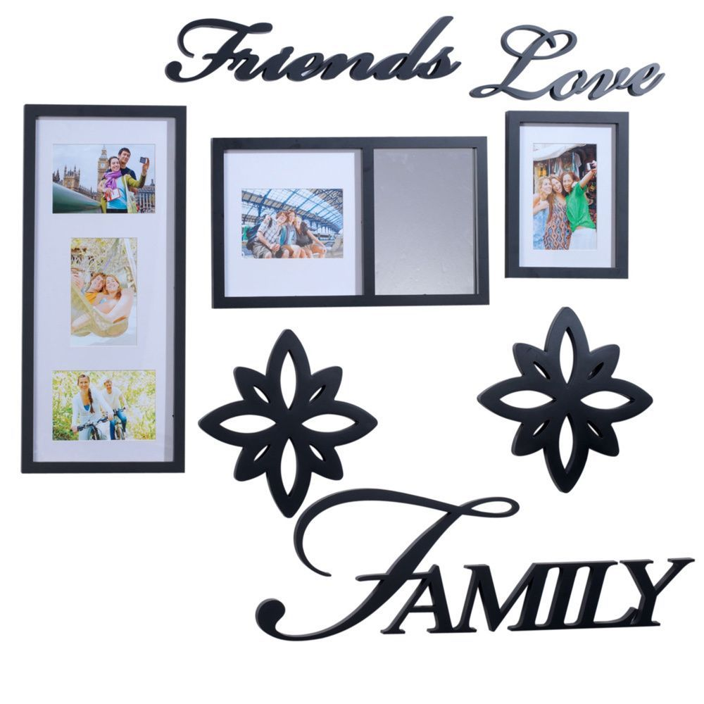 Melannco 8-piece Friends love Family Decorator Set (Melannco 8 PC ...