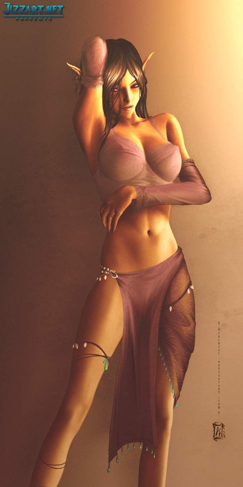 Art elf women fantasy