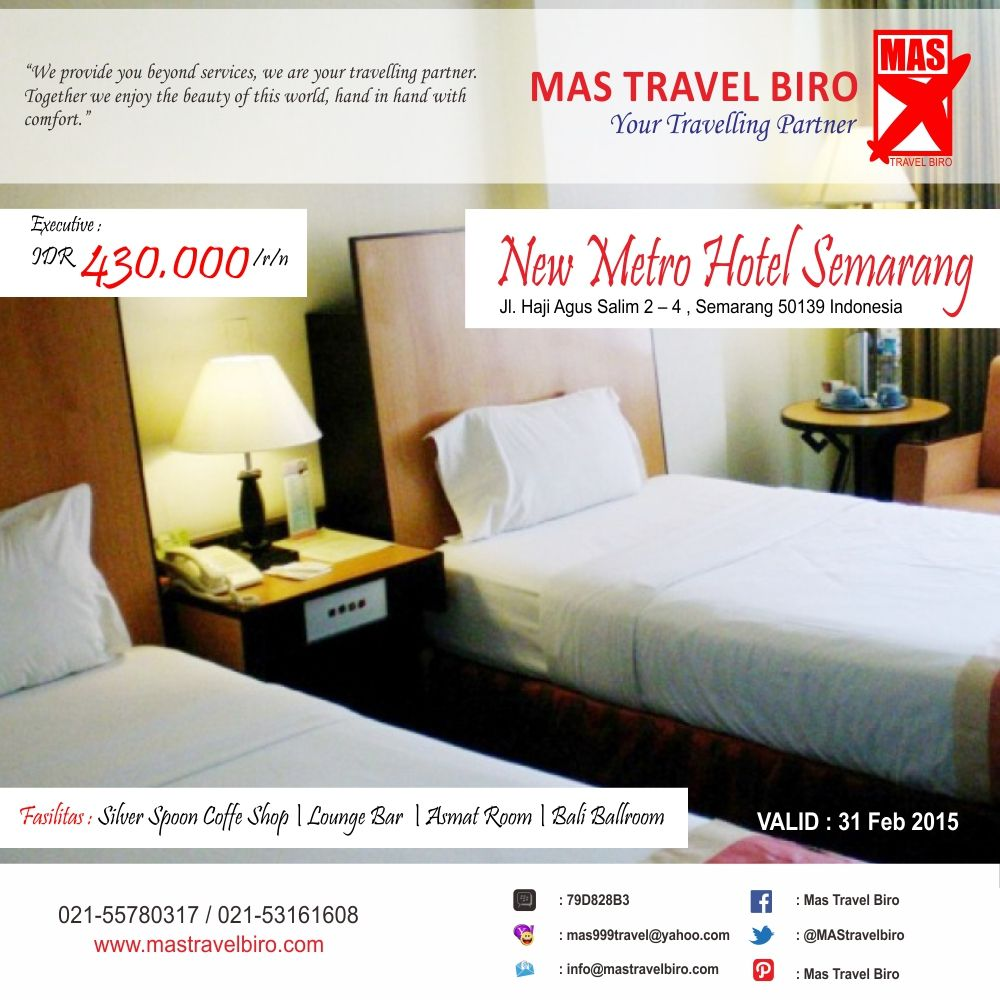 Pin di Promo Hotel Mas Travel Biro