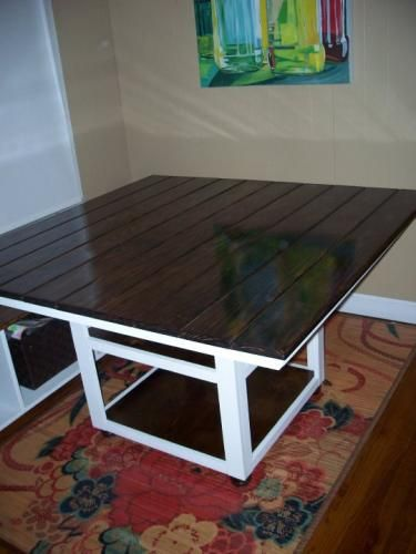 DIY Farm House Table And Storage Bench Soo Many Plans On This Site