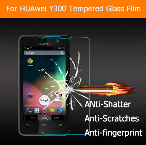 """>> Click to Buy << 0.33mm 2.5D 9H Anti shatter Tempered Glass film For Huawei Y300 U8833 T8833 4.0"""" Screen Protector film explosion proof LCD film #Affiliate"""