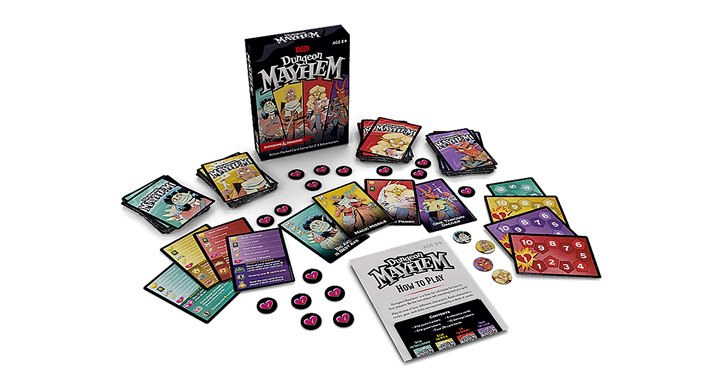 Dungeon Mayhem Dungeons & Dragons Card Game Just 9.99! in