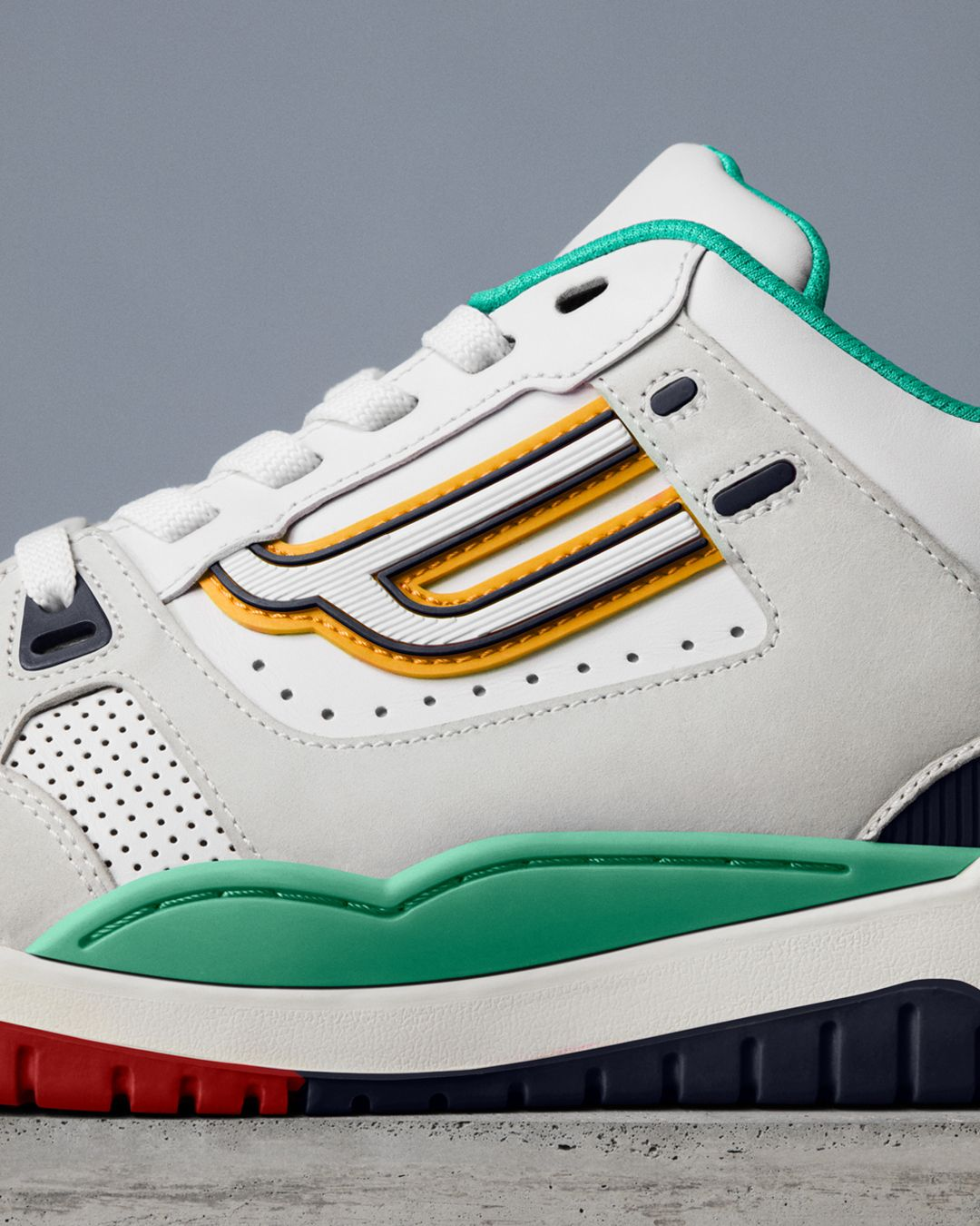 The Bally Champion sneaker combines