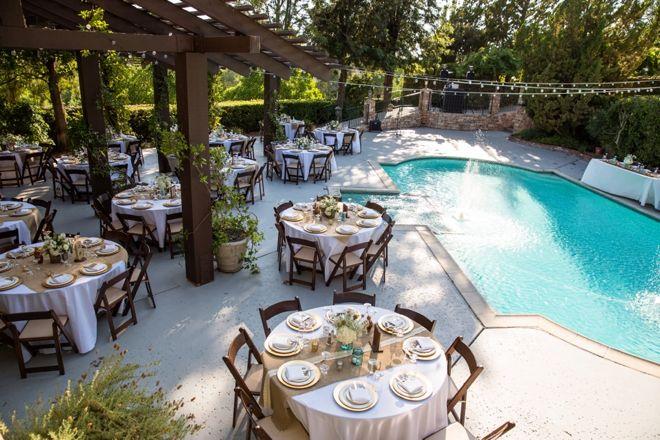 20+ Backyard pool wedding ideas info