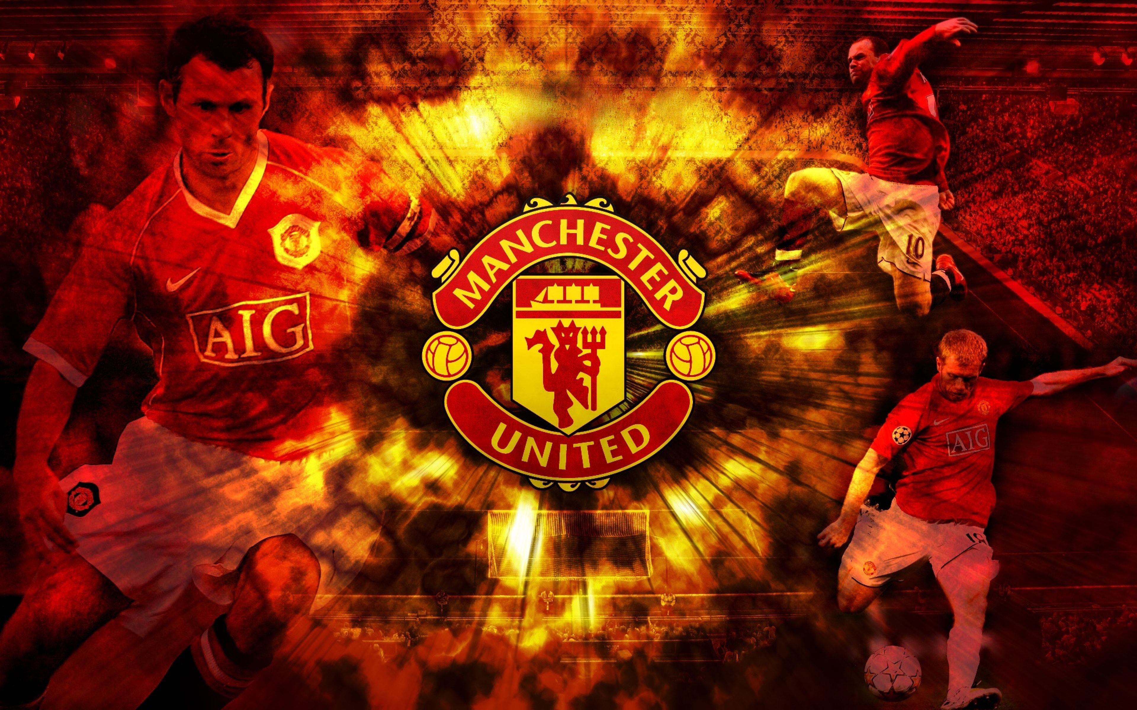Ultra Hd K Manchester United Wallpapers Hd Desktop Backgrounds Manchester United Wallpaper Manchester United Manchester United Football Club