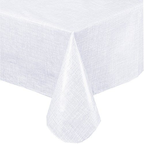 Premium Solid Color Vinyl Flannel Backed Tablecloth 60 X ... Https://