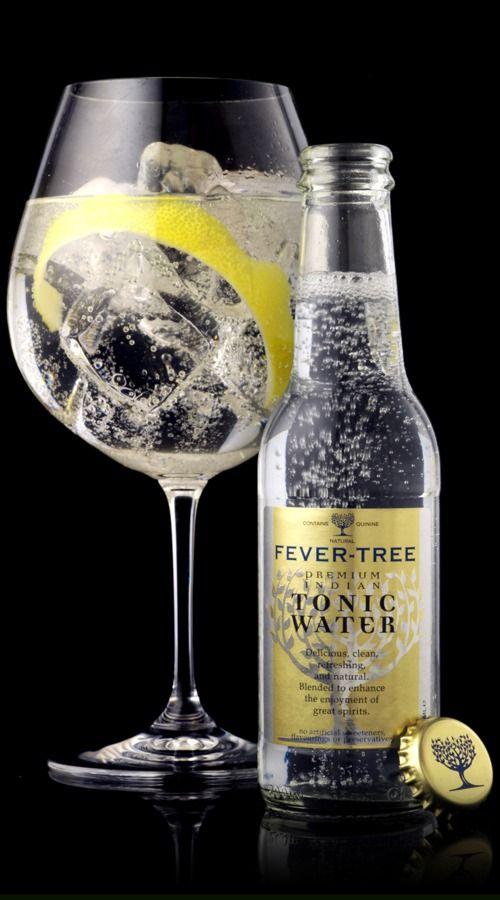 Fevertree Mediterranean Tonic Water Flavoured Waters Best Vodka Gin