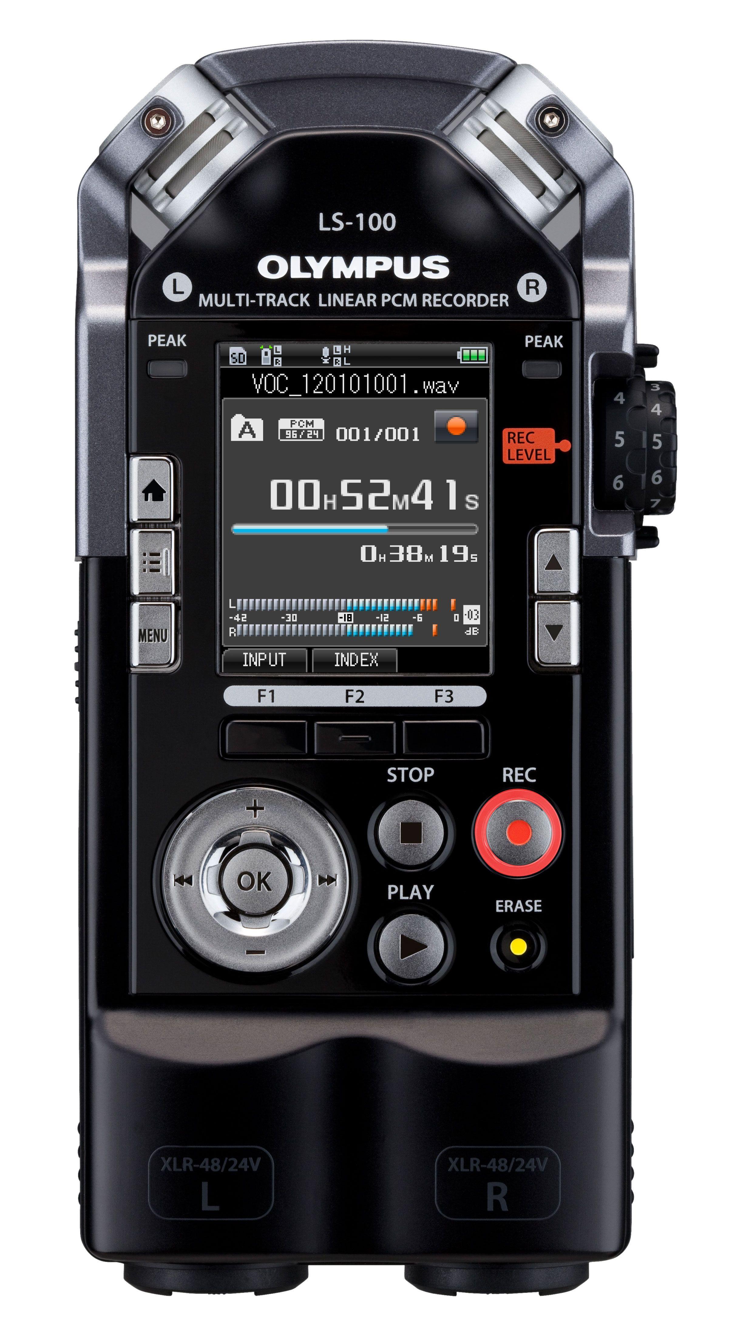 Rejestrator dźwięku Olympus LS 100 100 pl Rejestrator dźwięku LS 100