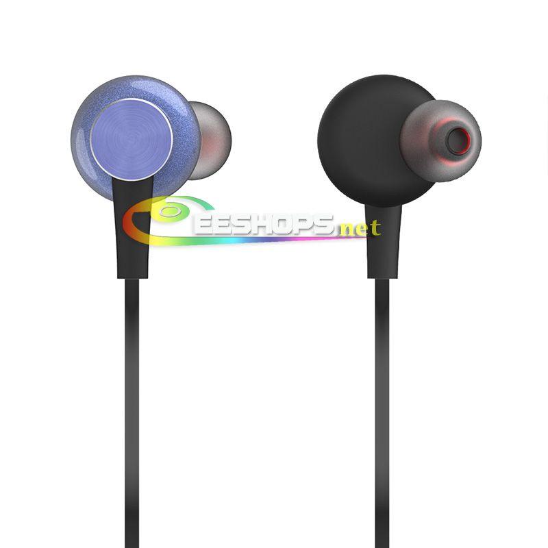 Neckband Earphones with Bluetooth Wireless Microphone in-Ear
