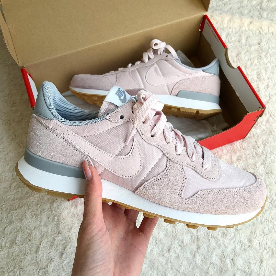 nike internationalist femme rose blush