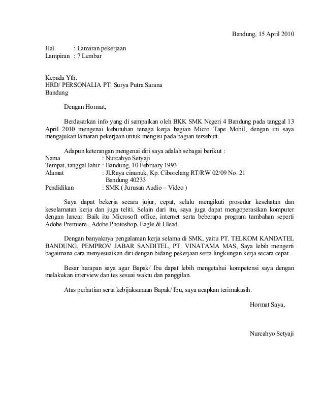 Contoh Surat Lamaran Ke Sekolah Dalam Bahasa Inggris Download Kumpulan Gambar