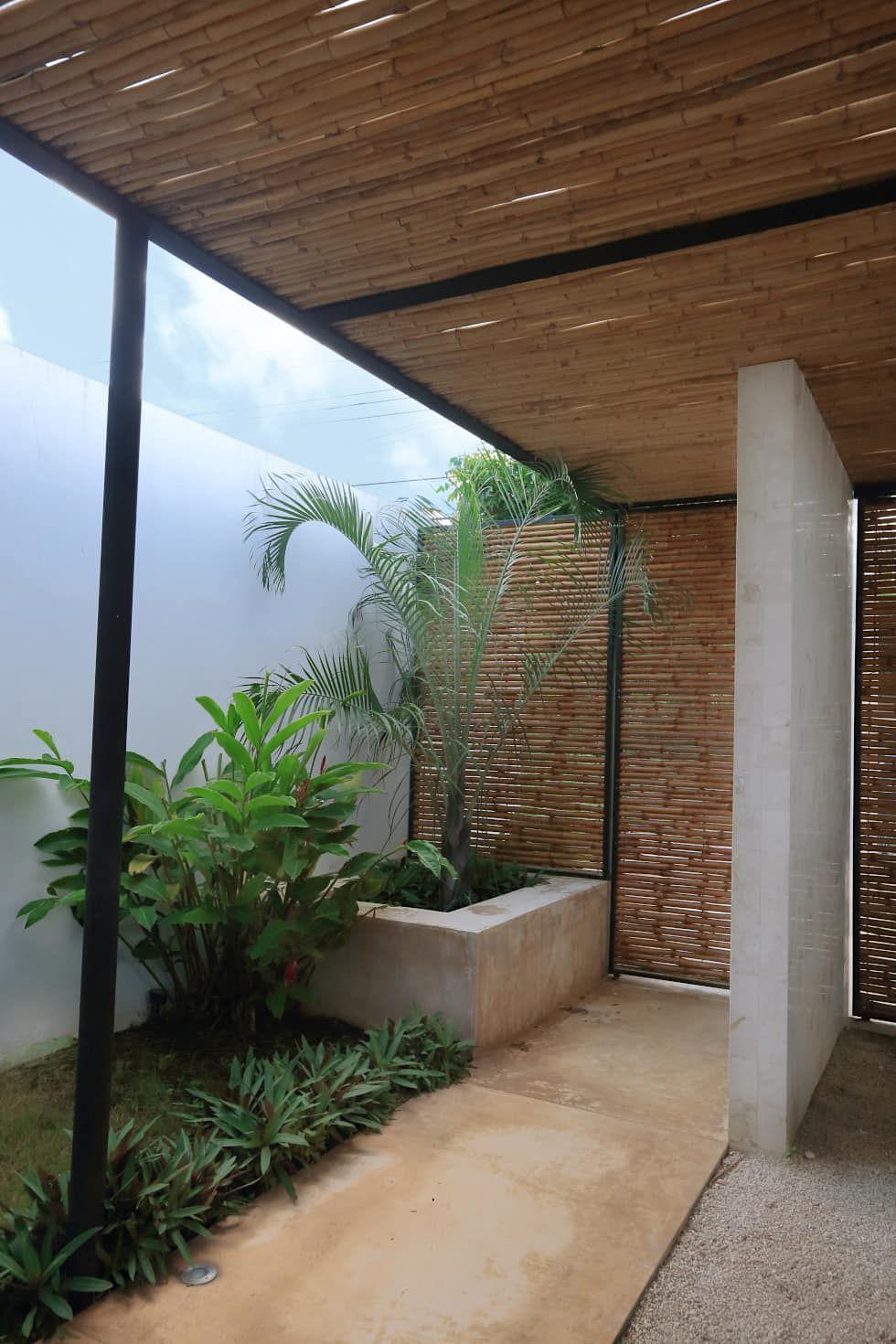 Casa Mo: Jardines de estilo topical por FGO Arquitectura