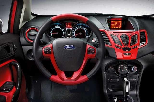 2015 Ford Fiesta Modification Interior Picture Size 640x427