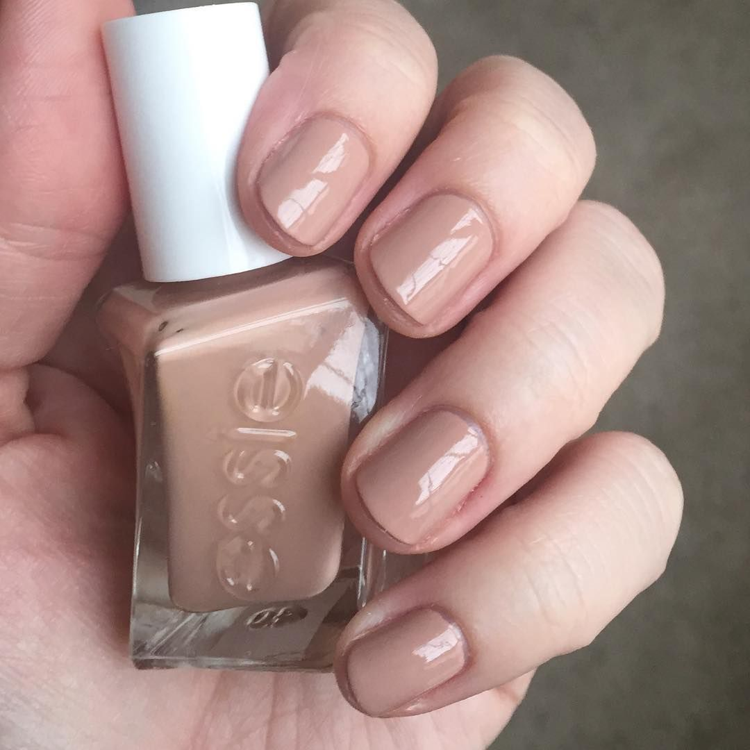 """61 Likes, 2 Comments - @sharyn629 on Instagram: """"Essie Gel Couture At The Barre. This formula continues to be my go-to. Wore this pretty nude for a…"""""""