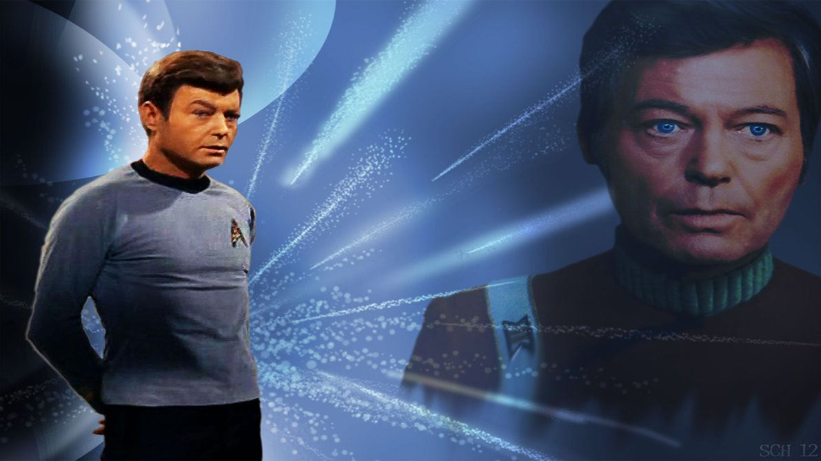 Star Trek--Mc Coy--Blue Boy by schematization